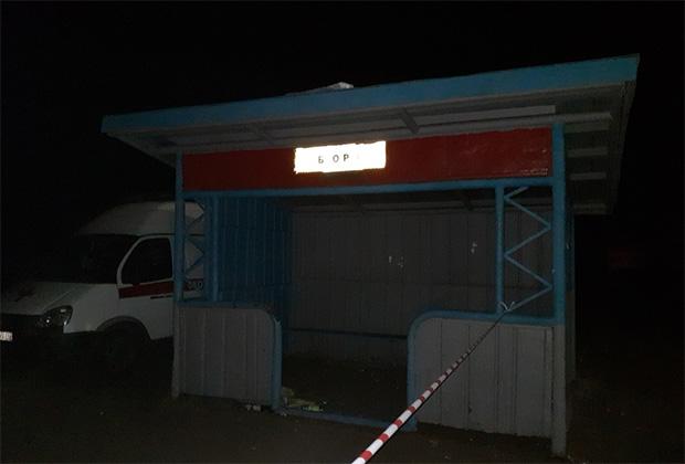 Автобусная остановка «Бор»