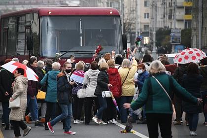 В Минске применили слезоточивый газ и светошумовые патроны на акции пенсионеров