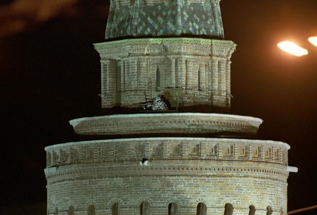 Снайпер на башне Кремля