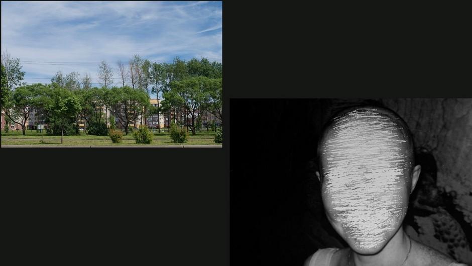 Слева: Октябрьский проспект в Череповце <br><br> Справа: одна из жертв Даниловского маньяка