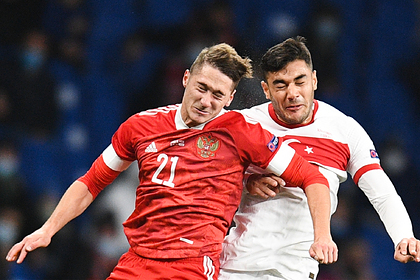 Болельщики выбрали лучших в октябре игроков сборной России по футболу