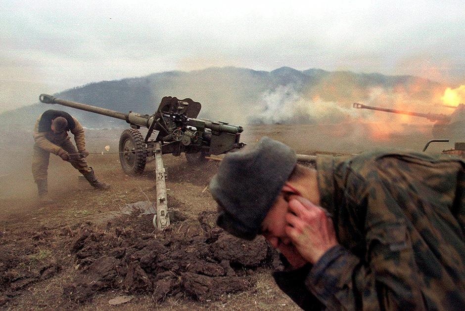 Вторая Чеченская война. Недалеко от Грозного, январь, 2000 года