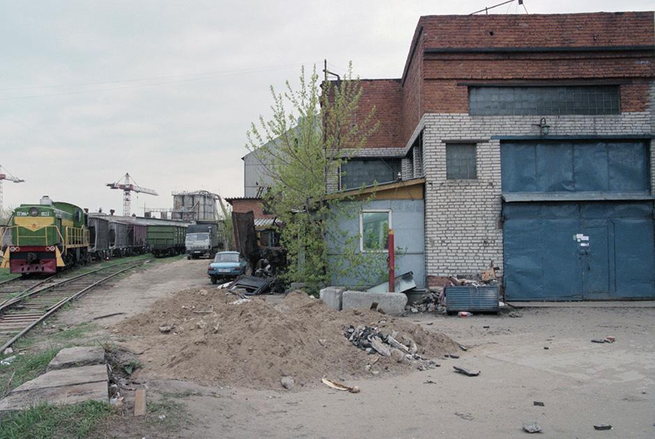 Московский автосервис «Автолюкс», где в 1998 году прятали тела жертв преступных группировок