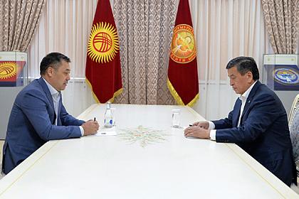 Сооронбай Жээнбеков  и Садыр Жапаров