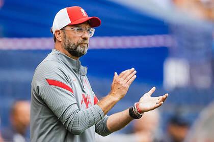«Эвертон» сыграл вничью в дерби с «Ливерпулем» и остался лидером АПЛ