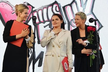 3-х  лидеров белорусской оппозиции номинировали наНобелевскую премию мира