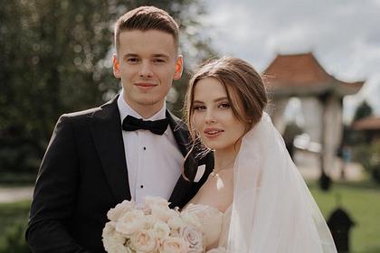 Арсений Шульгин с женой Лианой