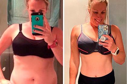 Женщина избавилась от 40 сантиметров на талии и раскрыла три секрета успеха