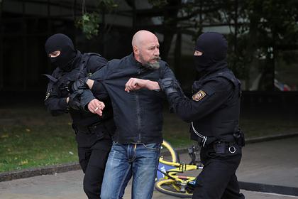 Названо число задержанных на протестных акциях в Белоруссии