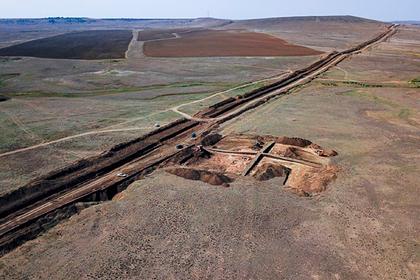 В крымском водопроводе обнаружили древнюю деревню