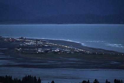 Землетрясение произошло у берегов Аляски