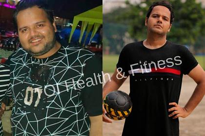 136-килограммовый мужчина похудел на 32 килограмма и поделился секретом успеха