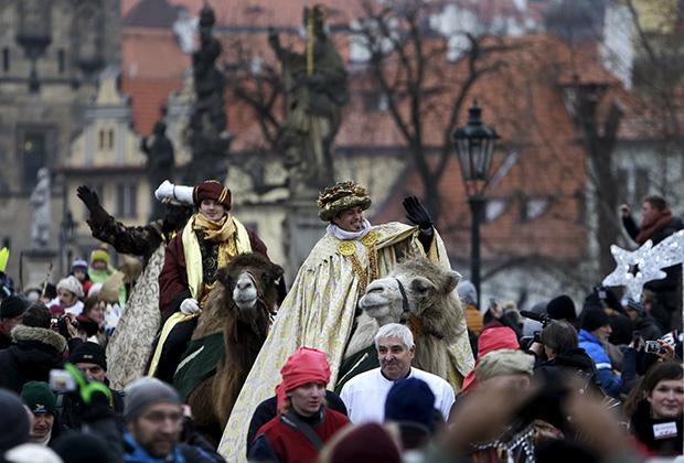 Новогодние праздники в Праге