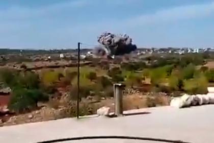 ВКС России ударили по боевикам в Идлибе