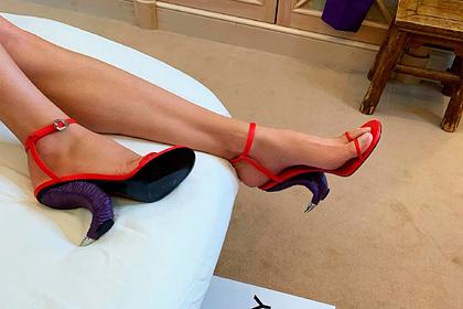Новые туфли Водяновой подняли на смех и прозвали копытами