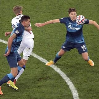 «Зенит» пропустил в добавленное время и проиграл в Лиге чемпионов