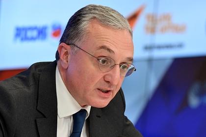 Глава МИД Армении прибыл в Москву с рабочим визитом