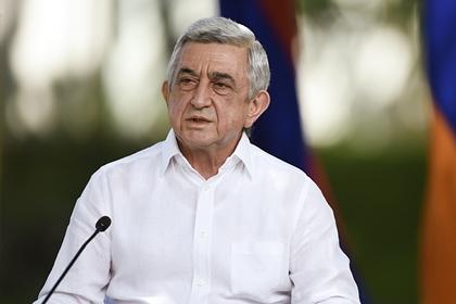 Бывший глава Армении назвал условие мира в Нагорном Карабахе
