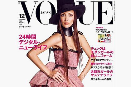 Читатели раскритиковали лицо самой красивой женщиной в мире на обложке Vogue