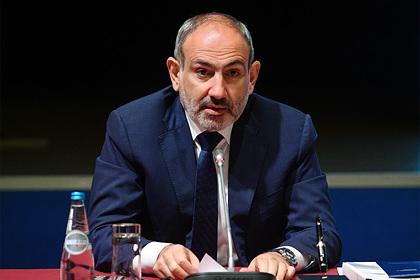 Пашинян заявил о невозможности решения конфликта с Азербайджаном мирным путем