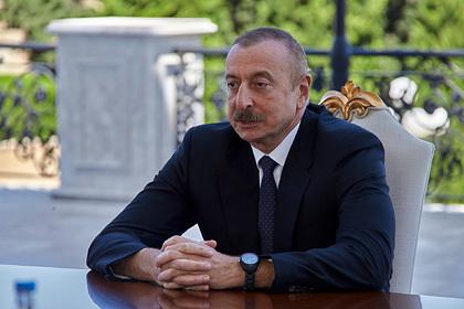 Алиев допустил проведение переговоров с Пашиняном по Карабаху в Москве