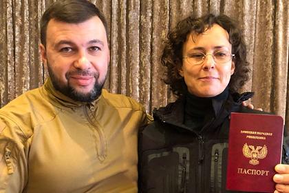 Денис Пушилин и Юлия Чичерина