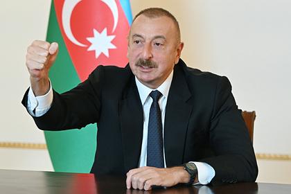 Алиев заявил о переходе под контроль Азербайджана границы с Ираном