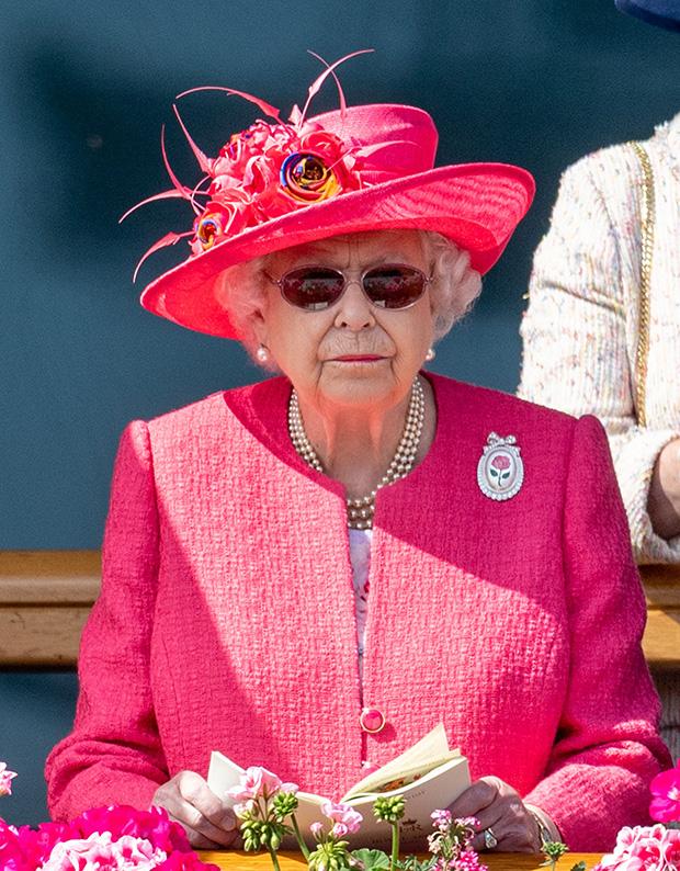 Елизавета II на Королевских скачках в Аскоте, 21 июня 2018 года