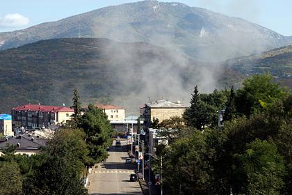 Россия потребовала вывести иностранных боевиков из Карабаха