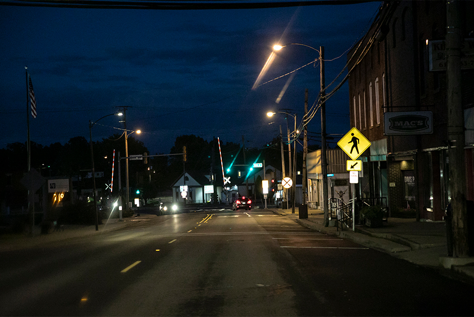 После заката в городе Анна