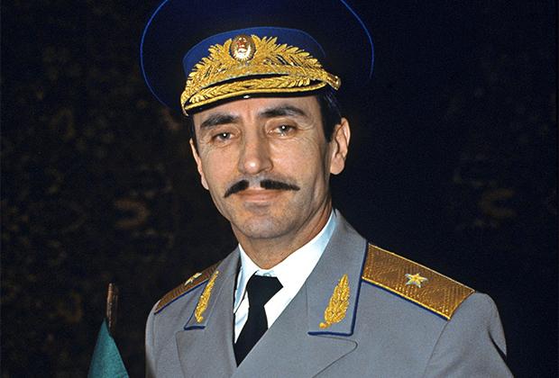 Президент самопровозглашенной республики Ичкерия Джохар Дудаев