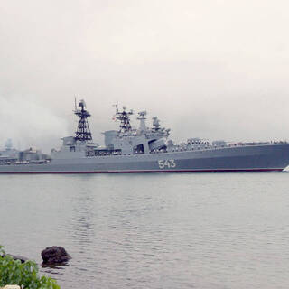 В США назвали «вооруженный до зубов» корабль России