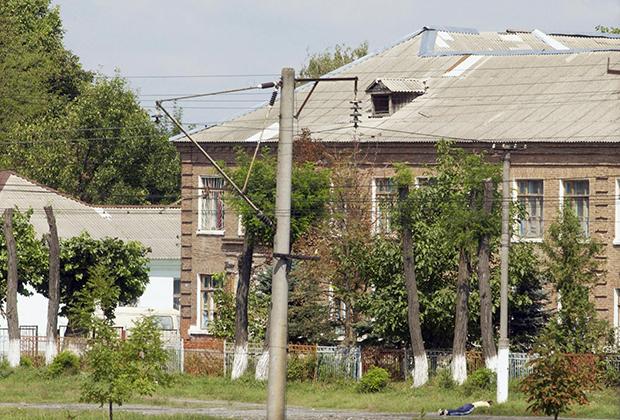 Здание школы №1 (Беслан), захваченной террористами