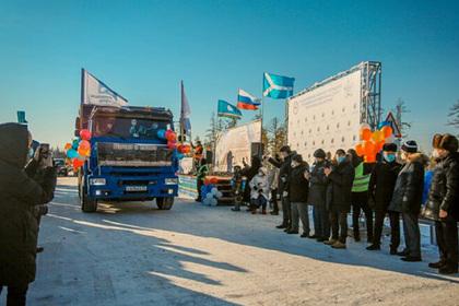 В Якутии открыли строившуюся 20 лет дорогу
