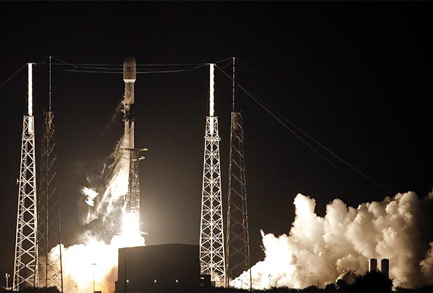 Пуск ракеты Falcon 9
