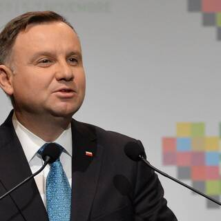 Президент Польши Анджей Дуда
