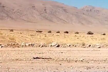 Иран перебросил танки к границе с Карабахом