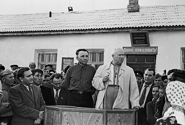 Никита Хрущев, 1958 год