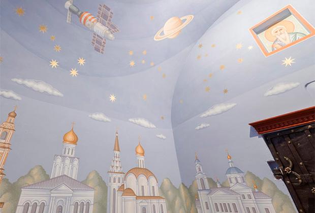 Андреевский храм в Новоселове