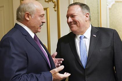 Госсекретарь США поговорил с Лукашенко