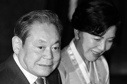 Умер председатель Samsung