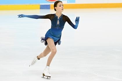Фигуристка Щербакова выиграла этап Кубка России в Сочи