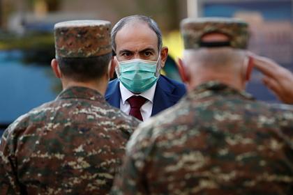Пашинян оценил возможное размещение российских миротворцев в Нагорном Карабахе