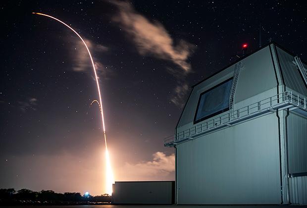 Пуск американской ракеты