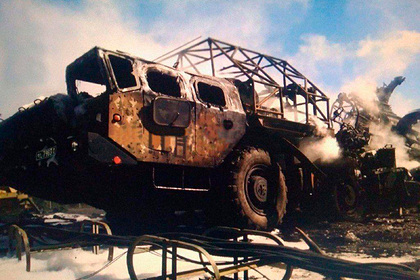 Появились фото уничтоженного Азербайджаном армянского С-300