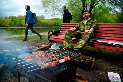 Россияне вписали шашлыки в свой идеальный выходной