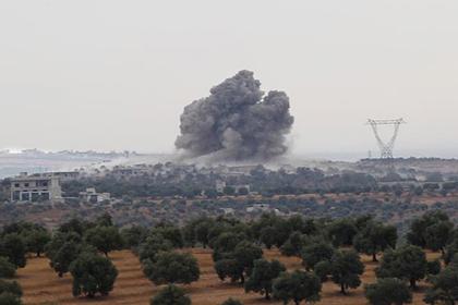ВКС России ударили по лагерю подготовки террористов в Сирии