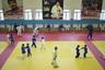Дети тренируются в Академии единоборств имени М.Базарганова в Кизилюрте.