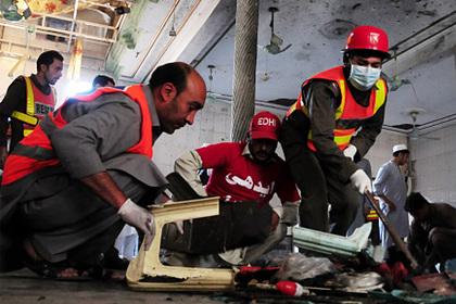 Взрыв в школе в Пакистане привел к гибели людей