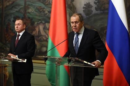 Владимир Макей и Сергей Лавров